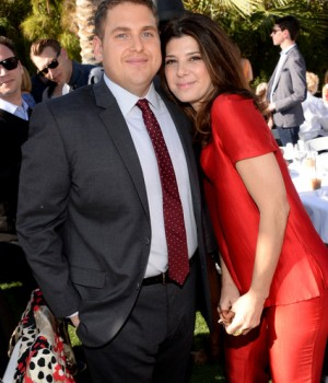 Jonah Hill and Marisa Tomei at Variety's Creative Impact Awards and 10 Directors to Watch brunch