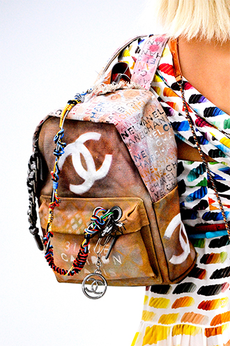 Karl Lagerfeld wants you to spend $3,400 on this Chanel Bricolage Backpack