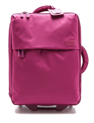 "Lipault Paris Foldable 22"" Wheeled Carry On Bag - Pink"