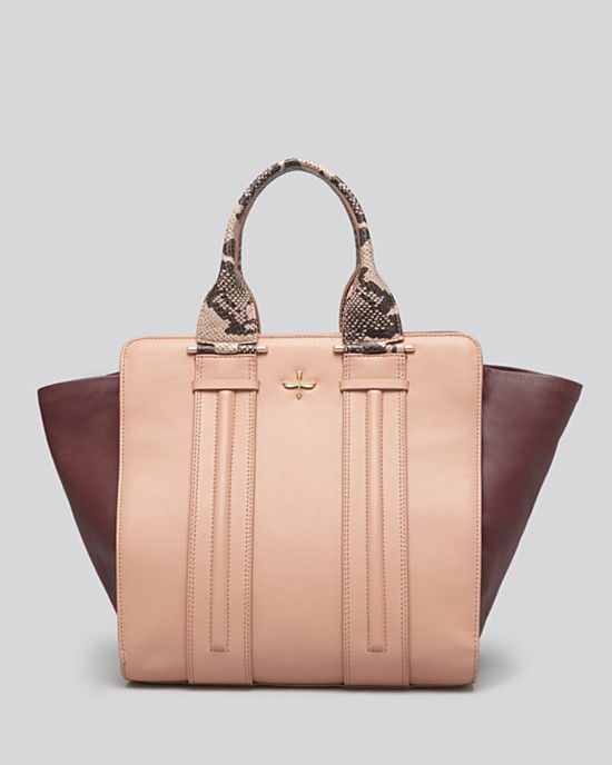 Pour la Victoire Provence Tote in Dusty Pink