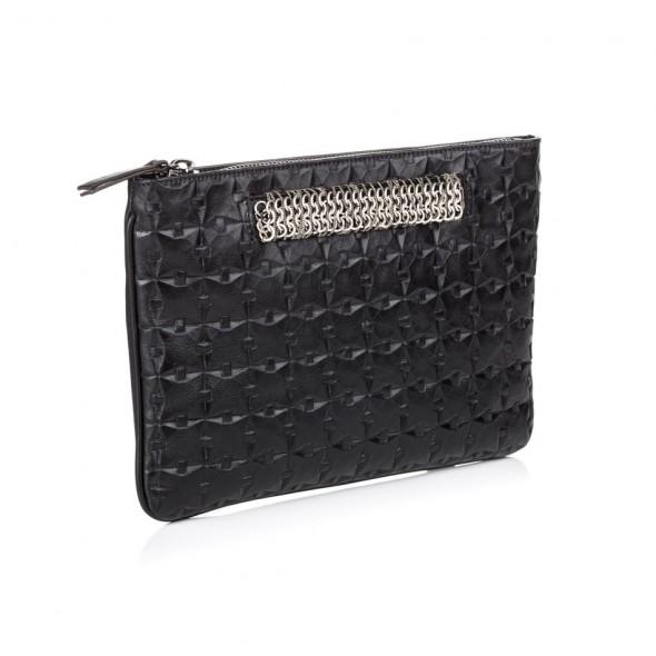 Dannijo Viper black leather