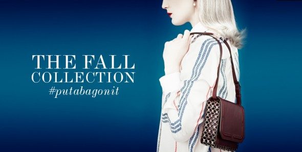 Dannijo's Fall handbag line is heavy on the houndstooth and pearls