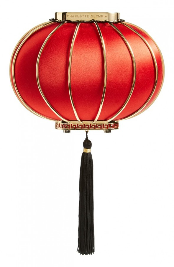 Splurge du Jour: Charlotte Olympia Lantern Silk Minaudiere