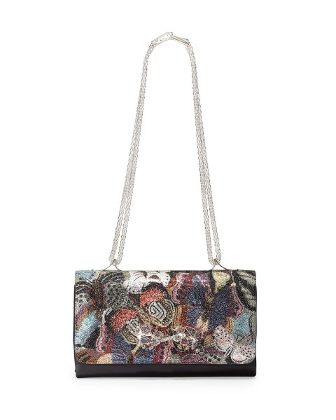 Valentino Va Va Voom Camo Butterfly Shoulder Bag, Multi